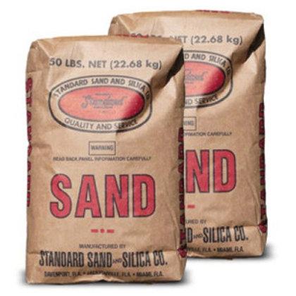 40/30 Silica Sand - 50 lb - Plastic Bag