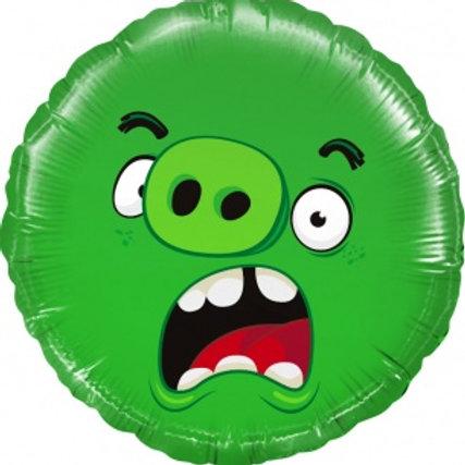 Шар Angry Birds, Зеленый