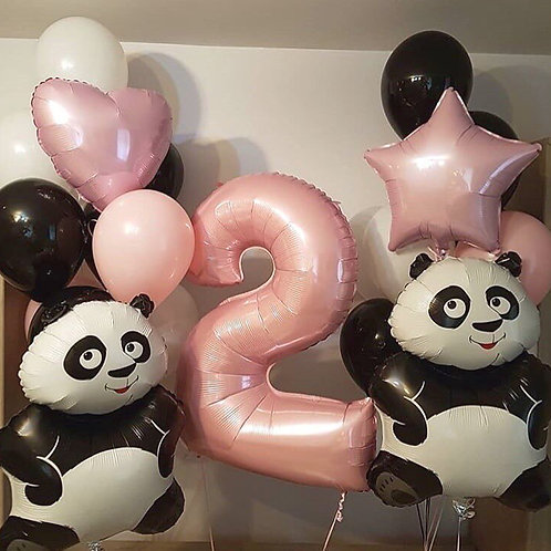 Композиция с пандами