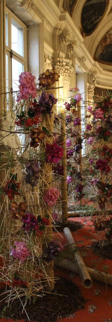 Expo Flowertime à l'Hôtel de ville de Bruxelles 2017