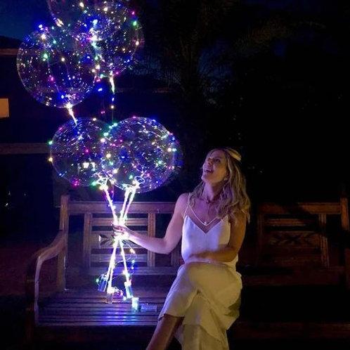 Светящийся шар Бабблс на палочке