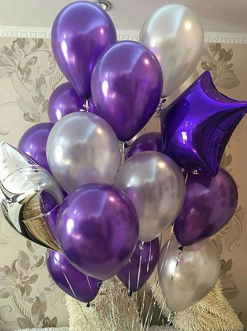 Фонтан жемчужный, фиолетовый