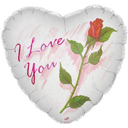 Шар Сердце я тебя люблю!