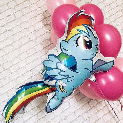 Шар My Little Pony Радуга