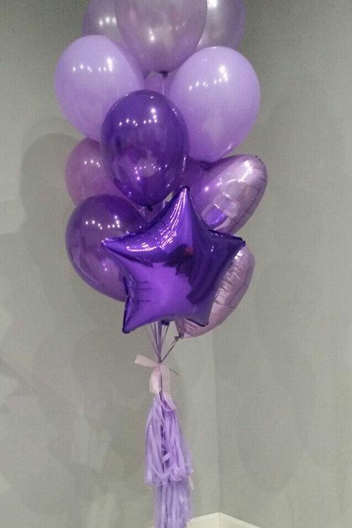 Фонтан фиолетовый