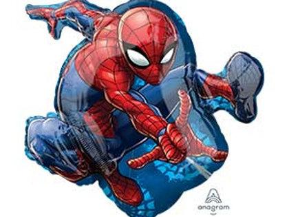 Шар Человек-паук в прыжке