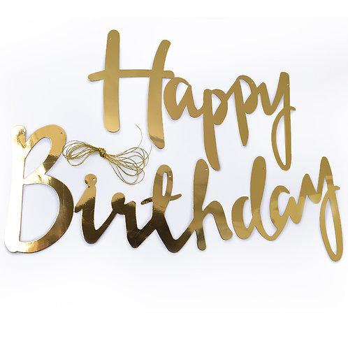 Гирлянда, Happy Birthday