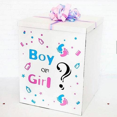 Коробка сюрприз узнать пол ребенка
