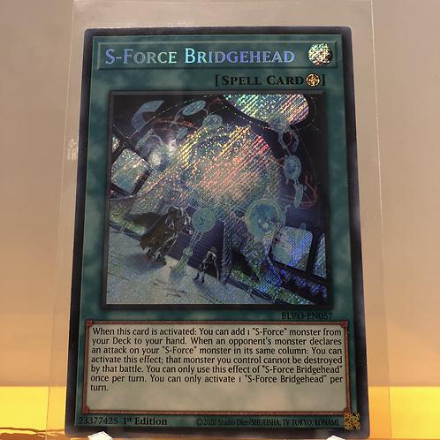 S-Force Bridgehead - BLVO-EN057 - Secret Rare 1st Edition