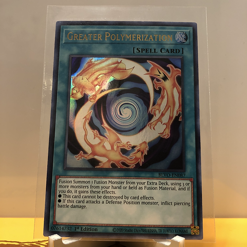 Greater Polymerization - BLVO-EN087 - Ultra Rare 1st Edition