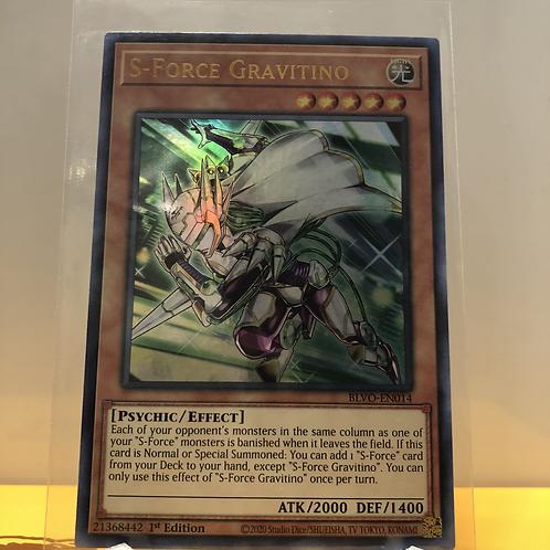 S-Force Gravitino - BLVO-EN014 - Ultra Rare 1st Edition