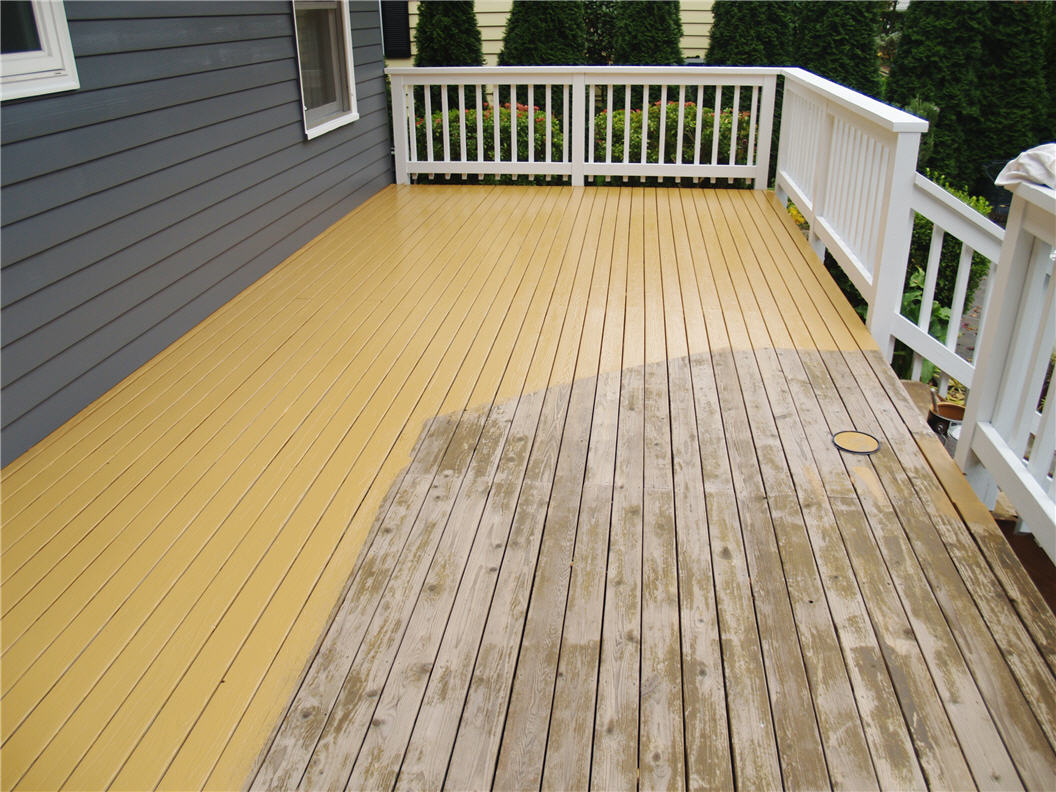 The Benefits Of A Painted Deck Staining Burlington Oakville Mississauga Halton Restoration