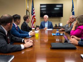 Del Rio/Val Verde Meets With Senators Cornyn and Cruz