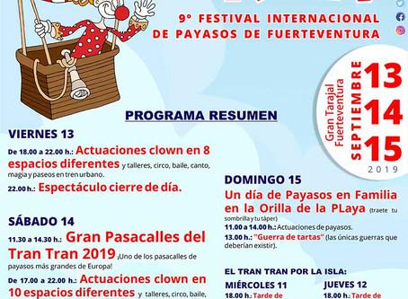 Avance horarios Festival
