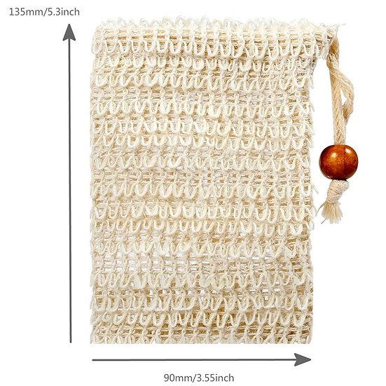 Organic Ramie Exfoliating Soap Bags