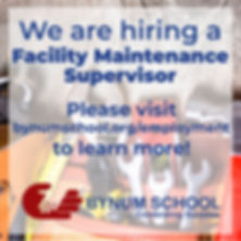 Hiring Facility Maintenance Social Media