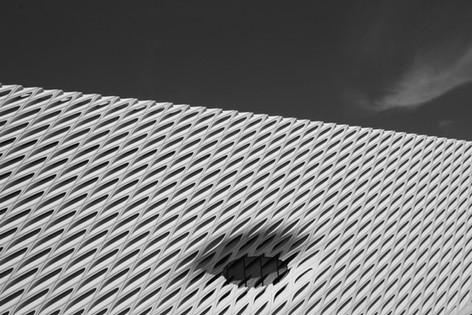 The Broad Museum, Los Angeles, California.