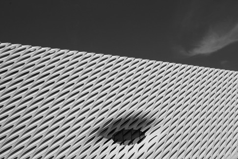 The Broad Museum, Los Angeles, California.
