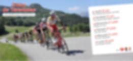 Bandeau site internet courses cyclistes
