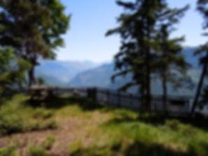 Randonnée en Coeur de Tarentaise.Belvédère des Ravières à Fontaine-le-Puits