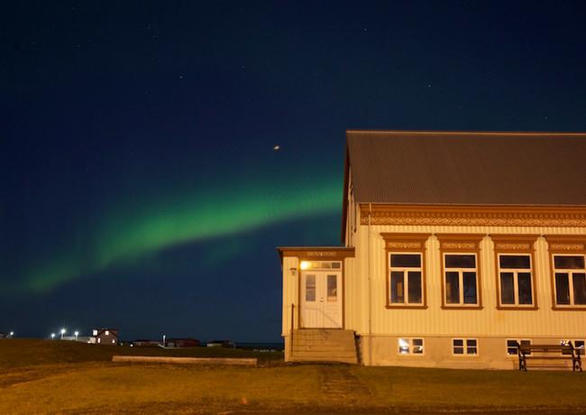 Northern Lights in Garður
