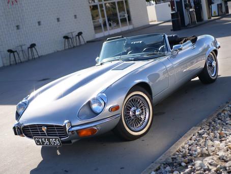 Jaguar E-type V12 1973