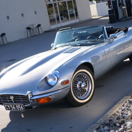 Jaguar E-type V12 1973