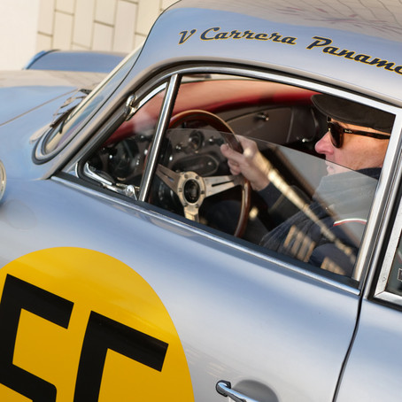 A Weakness for Alpine Roads: Søren & his Porsche 356B.
