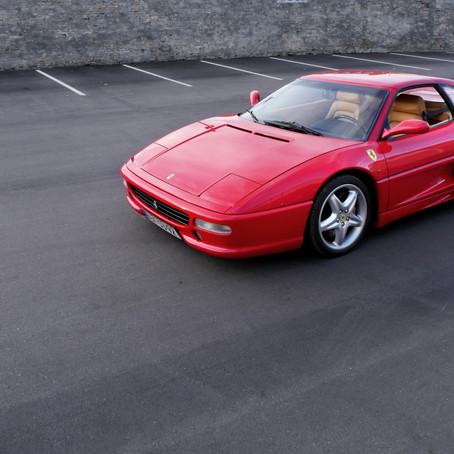 Lady in red: Ferrari F355 GTS