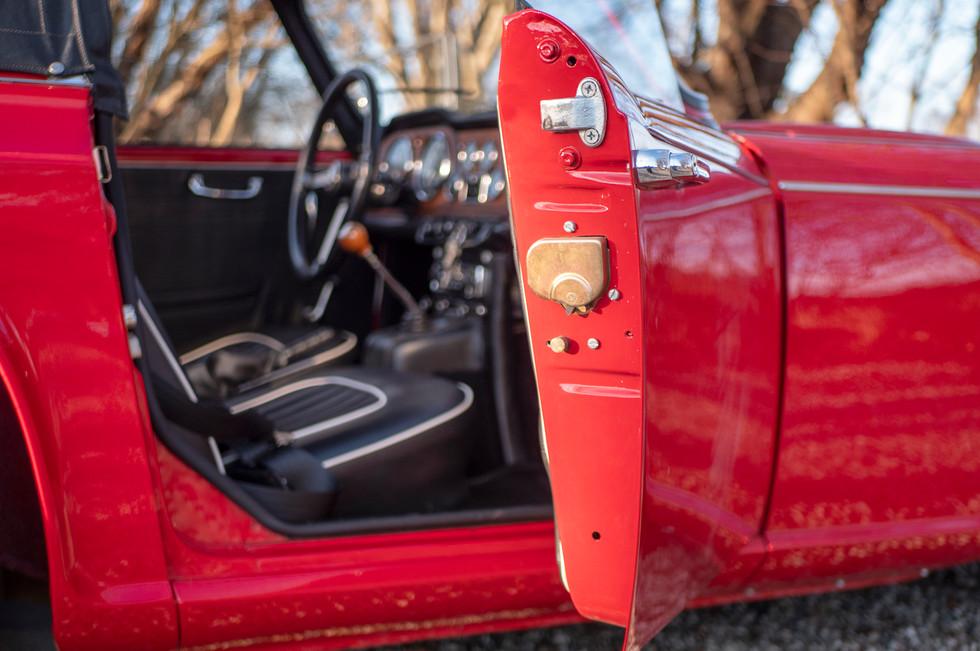 Triumph TR4 IRS