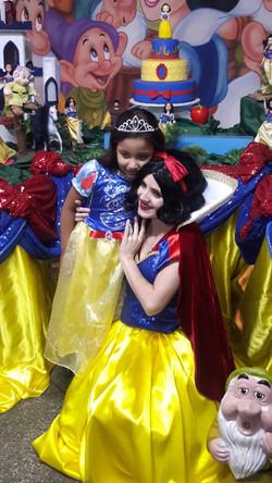 Branca de Neve festa infantil