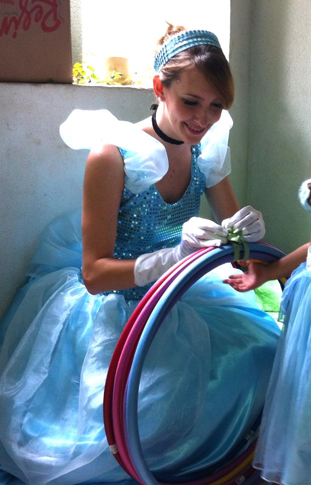 Princesa Cinderella para sua festa!