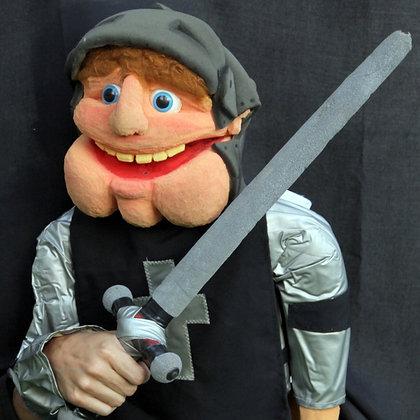 Cavaleiro de capacete