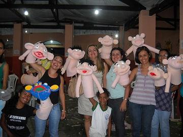 Oficina para professores e profissionais das artes plasticas. Educaçao infantil