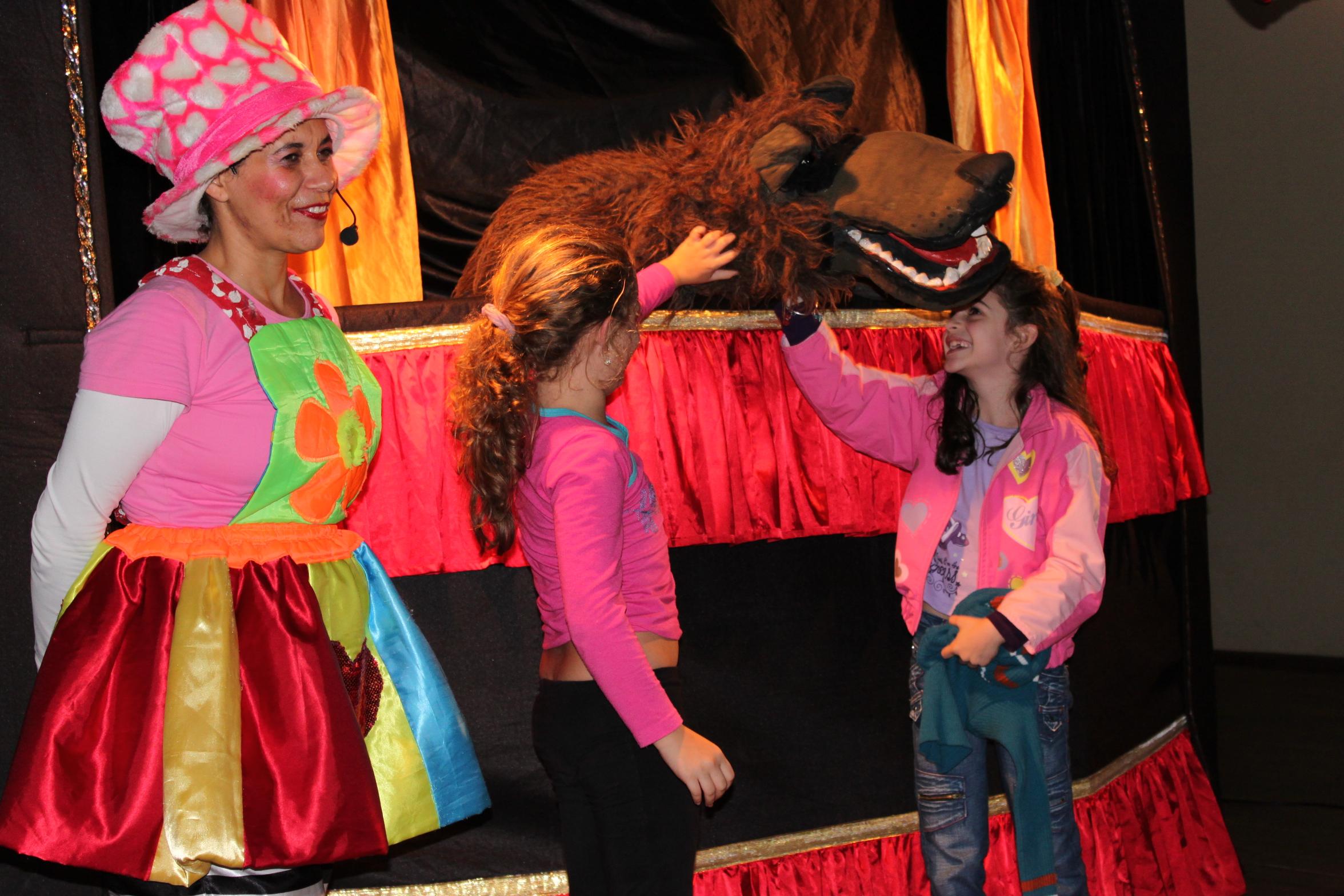Teatro de Bonecos.