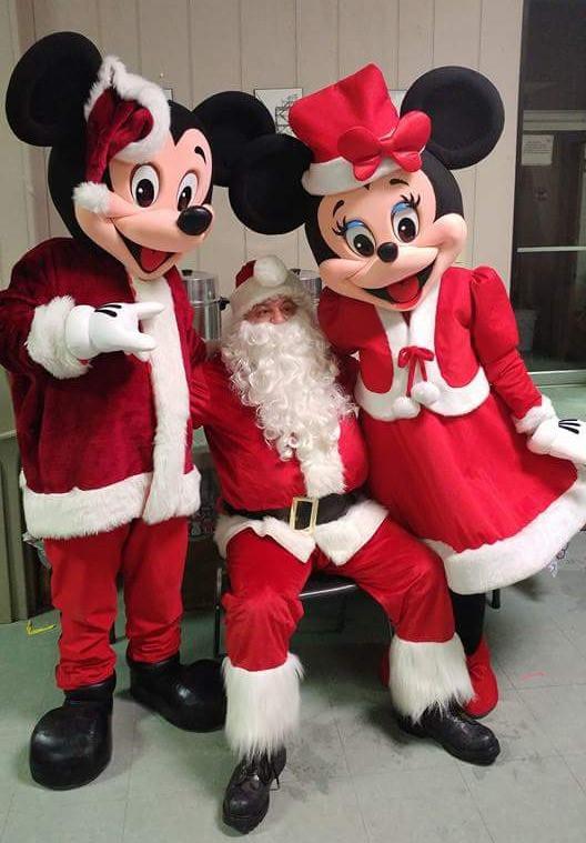 Mickey e Minnie Noel