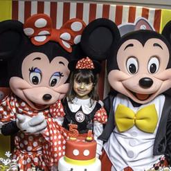 O Melhor Mickey e minnie no Rio