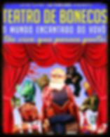 Participação dos alunos em apresentação de teatro de bonecos cia de teatro los titiriteros.