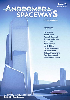 Cover of Andromeda Spaceways Magazine issue #74