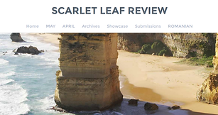 Scarlet Leaf Review front page image