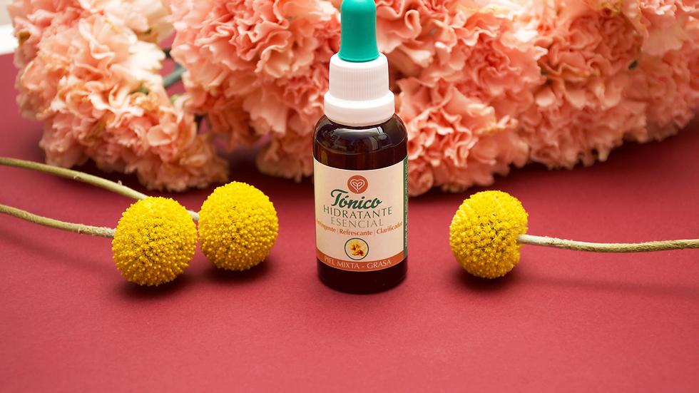 Tónico hidratante esencial para piel mixta-grasa