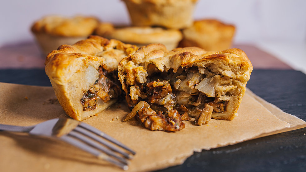 Posh Pies  - Vegan 2 pack Meat & Potato Pies