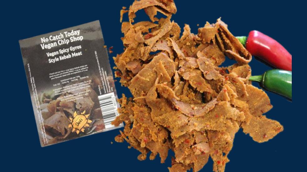 No Catch Today!! Vegan Chip Shop Spicy (Hot) Kebab Strips