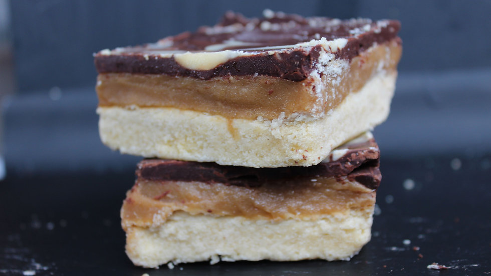 Vegan Desserts - Millionaires Slices