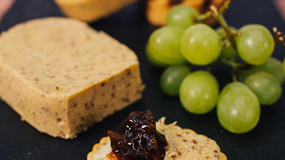 Vegan Wholegrain Mustard Cheese