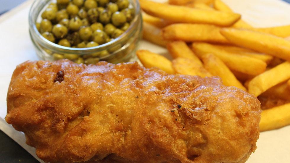 Not Catch Today!, Chip Shop Range - Vegan Battered JUMBO Sausage