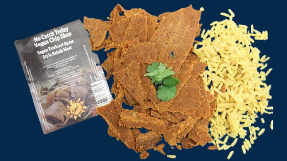 No Catch Today! Vegan Chip Shop Gyros Tandoori Kebab Strips