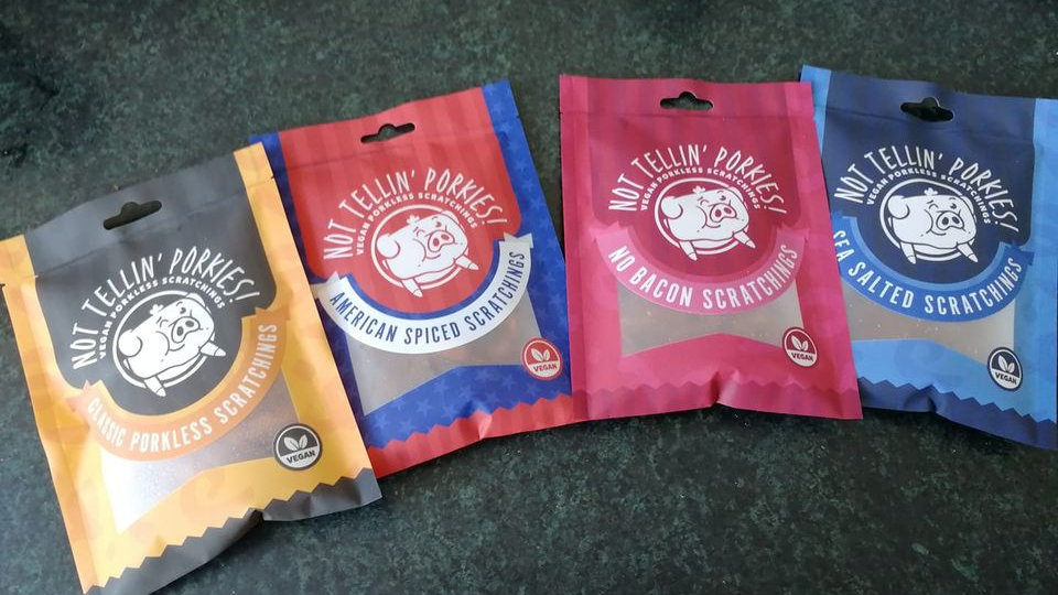 Not Tellin' Porkies!! - Pack of 4 Mixed Porkless Scratching's