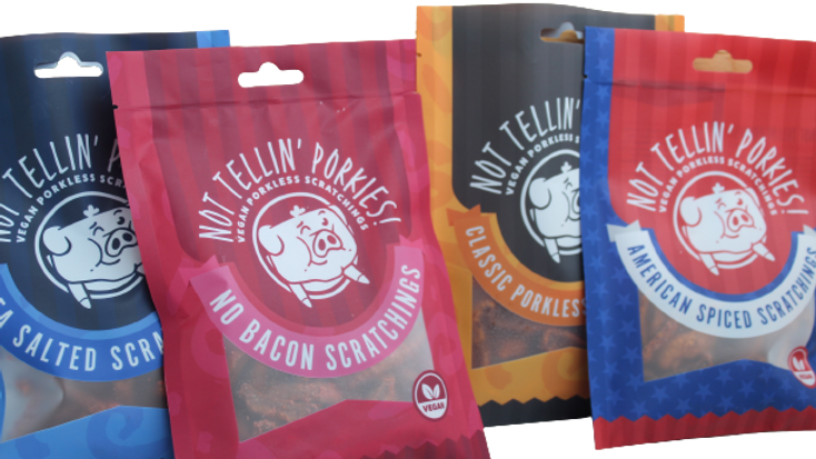 Not Tellin' Porkies!! - A CASE of 30 Mixed Porkless Scratching's