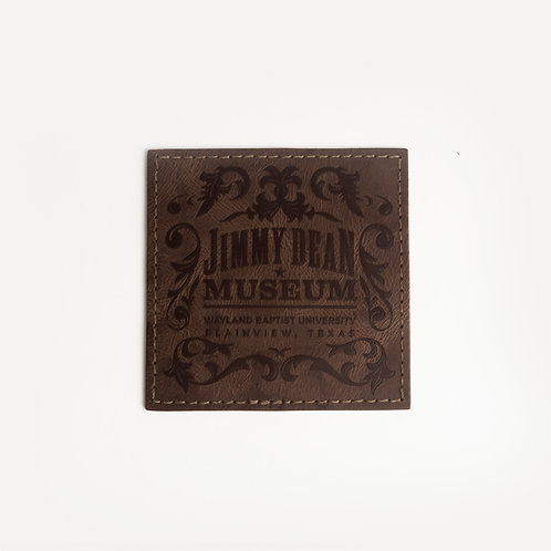 Tooled Leather Coaster